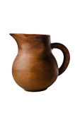 Clay jug, it is isolated Royalty Free Stock Photos