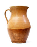 Clay jug, old ceramic vase  Royalty Free Stock Photography