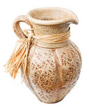 Clay jug Stock Image