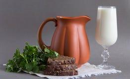 Clay jug. Royalty Free Stock Photos