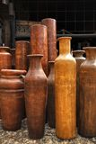 Clay jugs Royalty Free Stock Photos