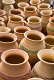 Clay jugs Stock Photos