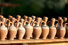 Clay jugs Royalty Free Stock Photography