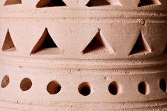 Clay lantern Royalty Free Stock Images