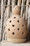 Clay lantern Royalty Free Stock Photography