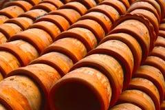 Clay Made Pots Background Photograph Imagens de Stock