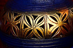 Clay Made Pottery Background Photograph Imagens de Stock Royalty Free