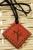 Clay magic amulet Royalty Free Stock Image