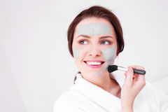 Clay Mask Royalty Free Stock Images