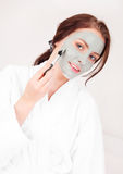 Clay Mask Stock Image