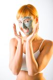 Clay Mask Royalty Free Stock Photo