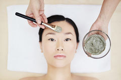 Clay mask Stock Images