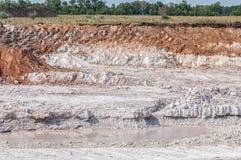 Clay mining Stock Photography