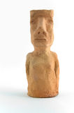clay moai model Obrazy Stock