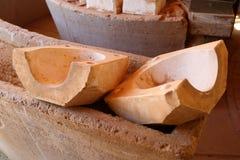 Clay mold Stock Photo