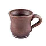 Clay mug Royalty Free Stock Images