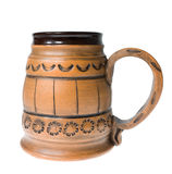Clay mug Stock Photography