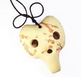 Clay ocarina Stock Image