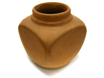 Clay old vase Royalty Free Stock Photo