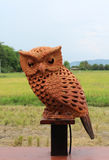 Clay owl Royalty Free Stock Photography
