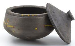 Clay Pan imagens de stock