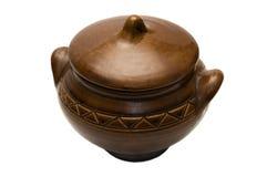Clay pan Stock Photo