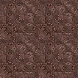 Clay pattern Stock Image