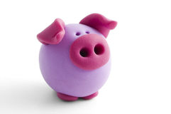 Clay pig Stock Photos