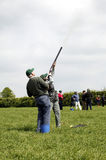 Clay Pigeon Shooting Stock Image