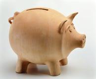 Clay Piggy Bank Stock Photo