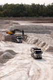 Clay pit Royalty Free Stock Photo