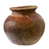 clay plant pot rough small Στοκ εικόνα με δικαίωμα ελεύθερης χρήσης