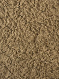 Clay Plaster. Applied as decorative wall covering Royalty Free Stock Photography