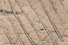 Clay plaster Stock Photography