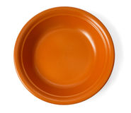 Clay plate Royalty Free Stock Photo