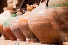 Clay Pot Imagen de archivo libre de regalías