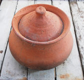 Clay Pot Royaltyfri Foto
