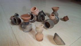 Clay Pot Royaltyfri Foto