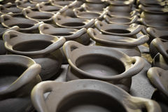 Clay pot. Stock Photos