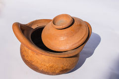 Clay pot of a community Royalty Free Stock Photo