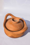 Clay pot of a community Stock Photography