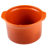 Clay pot for cooking. Royalty Free Stock Images