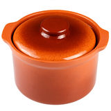 Clay pot for cooking. Royalty Free Stock Photos