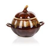 Clay pot for cooking Stock Photos