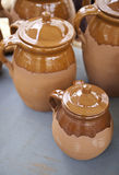 Clay Pot Royalty Free Stock Photos