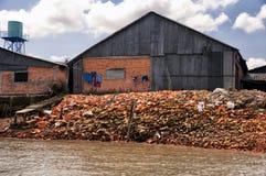 Clay Pot Factory South Vietnam Lizenzfreie Stockbilder