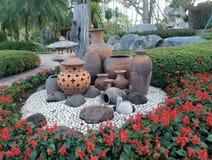 Garden Decoration Flower Pot Stock Photo Image 20383280