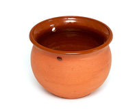 Clay pot Stock Image