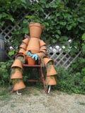 Clay Pot Man Fotografia Stock Libera da Diritti