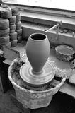 Clay pot workshop Royalty Free Stock Photos